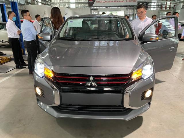 Mitsubishi Attrage 2020 với bộ mặt Xpander lộ diện tại Việt Nam, cận kề ngày ra mắt cạnh tranh vua doanh số Toyota Vios - Ảnh 1.