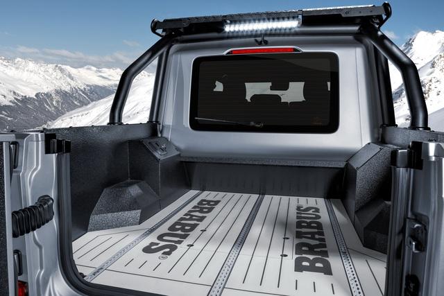 Mercedes-AMG G 63 lột xác thành siêu bán tải Brabus 800 Adventure XLP - Ảnh 3.