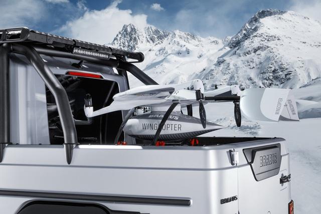 Mercedes-AMG G 63 lột xác thành siêu bán tải Brabus 800 Adventure XLP - Ảnh 2.