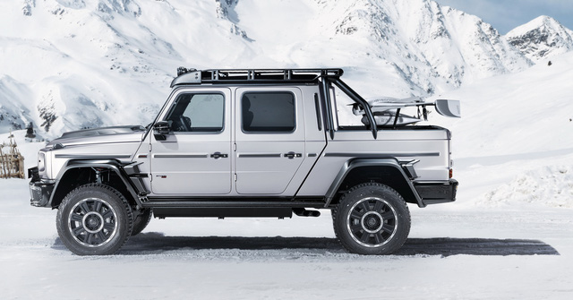 Mercedes-AMG G 63 lột xác thành siêu bán tải Brabus 800 Adventure XLP - Ảnh 8.