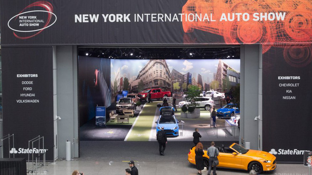 Mỹ bùng phát COVID-19, Triển lãm ô tô New York 2020 vẫn quyết tổ chức