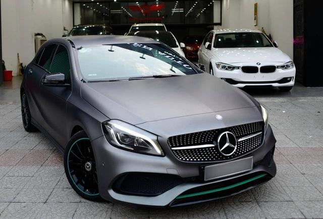 Hàng siêu hiếm Mercedes-Benz A 250 lấy cảm hứng từ F1 được chào bán bằng giá Honda Civic mua mới - Ảnh 4.