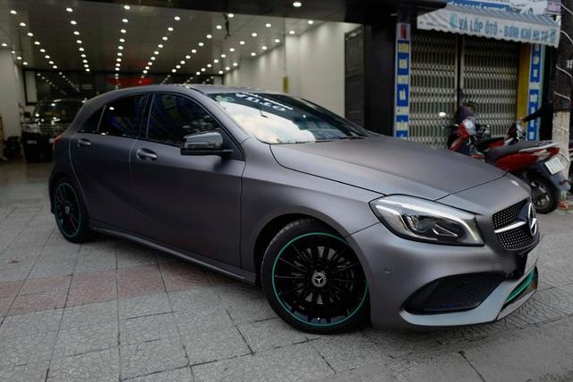 Hàng siêu hiếm Mercedes-Benz A 250 lấy cảm hứng từ F1 được chào bán bằng giá Honda Civic mua mới - Ảnh 2.