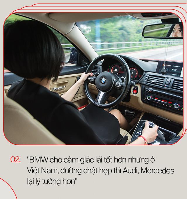 Nữ Bimmer 9X Hà Thành: Được mẹ tặng Lexus nhưng mê BMW và sau sẽ đổi sang Porsche - Ảnh 5.