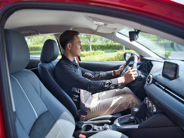 Mazda2 2020 chính thức ra mắt tại Việt Nam: Cạnh tranh Toyota Vios, nhưng công nghệ như CX-8 - Ảnh 7.