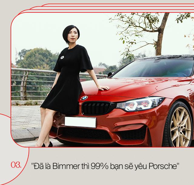 Nữ Bimmer 9X Hà Thành: Được mẹ tặng Lexus nhưng mê BMW và sau sẽ đổi sang Porsche - Ảnh 10.