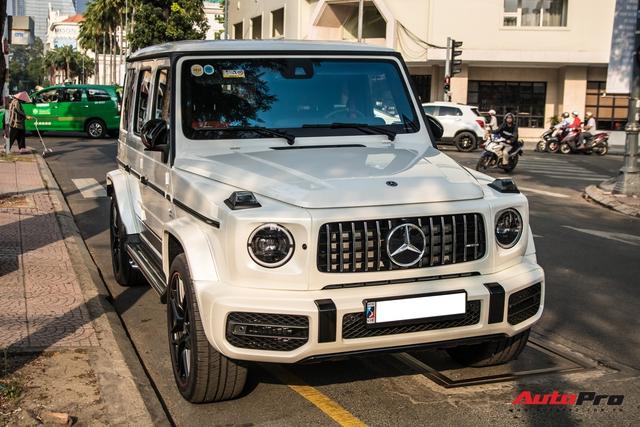 Thêm một chiếc Mercedes-AMG G 63 Edition 1 xuất hiện trên phố Sài Gòn, màu sắc dễ gây nhầm lẫn với xe Minh nhựa - Ảnh 1.