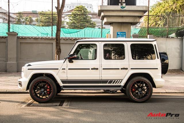 Thêm một chiếc Mercedes-AMG G 63 Edition 1 xuất hiện trên phố Sài Gòn, màu sắc dễ gây nhầm lẫn với xe Minh nhựa - Ảnh 2.