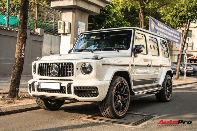 Thêm một chiếc Mercedes-AMG G 63 Edition 1 xuất hiện trên phố Sài Gòn, màu sắc dễ gây nhầm lẫn với xe Minh nhựa - Ảnh 4.