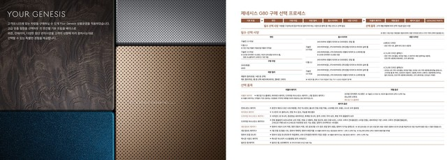 Genesis G80 khoe trọn bộ catalog: Toàn tiếng Hàn khó hiểu nhưng xem đã mắt - Ảnh 9.