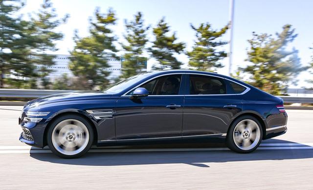 Genesis G80 ăn đứt Mercedes-Benz E-Class, BMW 5-Series và Audi A6 nhờ... giá rẻ - Ảnh 1.