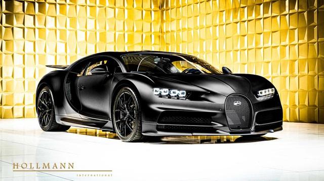 Bugatti Chiron Sport Noire Sportive siêu hiếm bất ngờ xuất hiện trên thị trường xe cũ với giá hơn 4 triệu USD