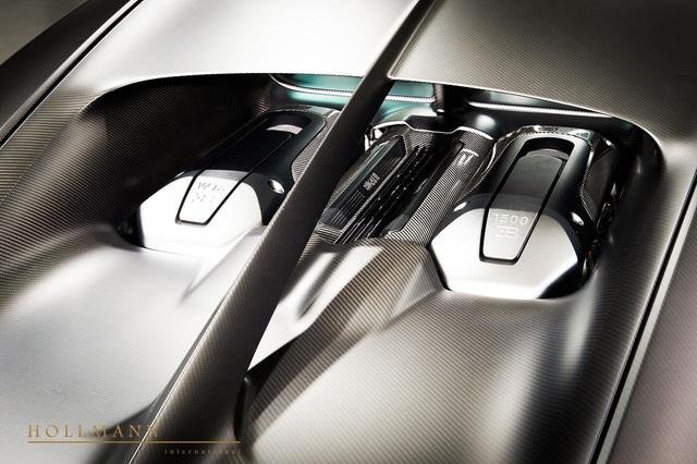 Bugatti Chiron Sport Noire Sportive siêu hiếm bất ngờ xuất hiện trên thị trường xe cũ với giá hơn 4 triệu USD - Ảnh 3.