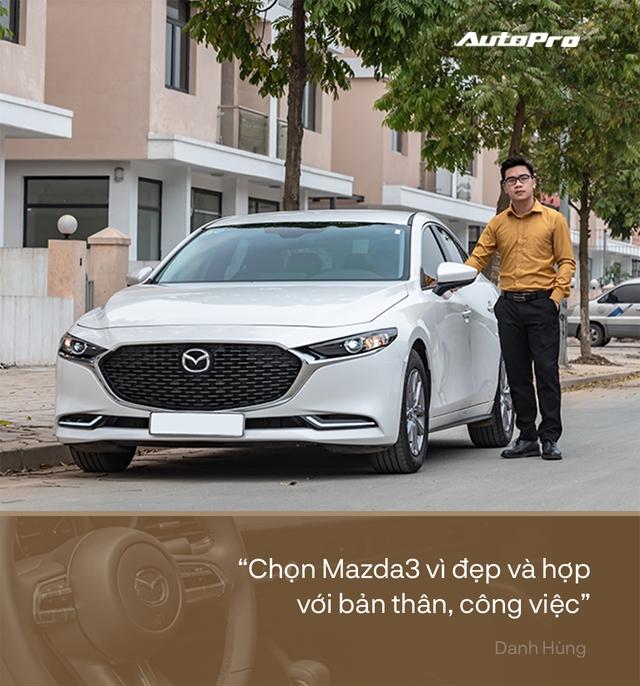 MC VTV chọn Mazda3 2020, nuôi xe chỉ 5 triệu/tháng: Phải đẹp đã, mọi chuyện khác tính sau - Ảnh 1.