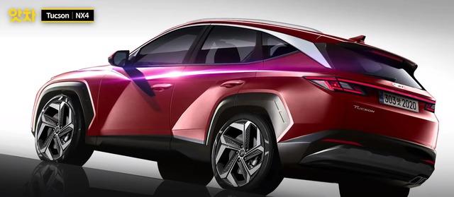 Xem trước Hyundai Tucson 2021: Lột xác như Elantra, kỳ vọng soán ngôi Mazda CX-5 và Honda CR-V - Ảnh 1.