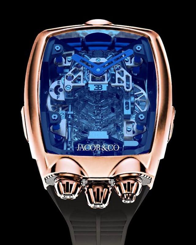 Đồng hồ Bugatti Chiron cực phẩm: Giá gần 7 tỷ, có động cơ W16 tí hon, nhiều trang bị mô phỏng siêu xe thực - Ảnh 5.