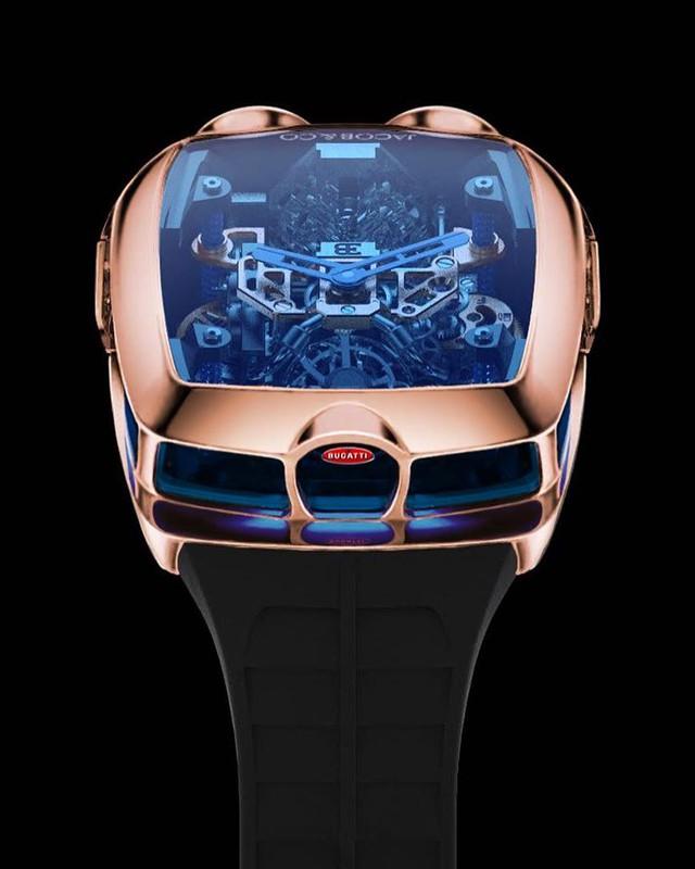Đồng hồ Bugatti Chiron cực phẩm: Giá gần 7 tỷ, có động cơ W16 tí hon, nhiều trang bị mô phỏng siêu xe thực - Ảnh 4.