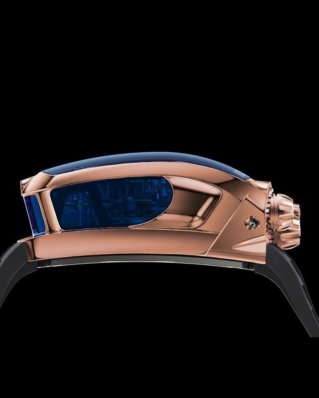 Đồng hồ Bugatti Chiron cực phẩm: Giá gần 7 tỷ, có động cơ W16 tí hon, nhiều trang bị mô phỏng siêu xe thực - Ảnh 6.