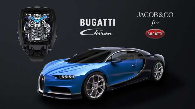 """Đồng hồ Bugatti Chiron """"cực phẩm"""": Giá gần 7 tỷ, có động cơ W16 tí hon, nhiều trang bị mô phỏng siêu xe thực"""