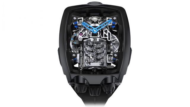 Đồng hồ Bugatti Chiron cực phẩm: Giá gần 7 tỷ, có động cơ W16 tí hon, nhiều trang bị mô phỏng siêu xe thực - Ảnh 1.