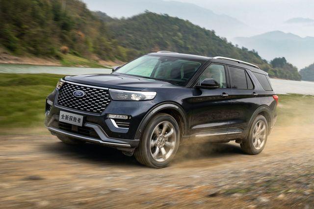 Ford tung Explorer Trung Quốc với thiết kế khác biệt, giá chỉ bằng nửa bản nhập - Ảnh 4.