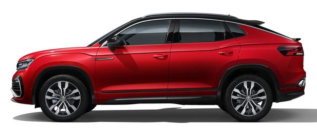 Ra mắt Volkswagen Tayron X - SUV lai coupe nằm giữa Honda CR-V và Mercedes GLC - Ảnh 2.