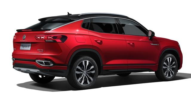 Ra mắt Volkswagen Tayron X - SUV lai coupe nằm giữa Honda CR-V và Mercedes GLC - Ảnh 3.