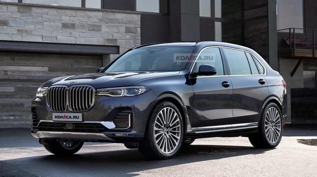 BMW X8 tái xuất: SUV lớn nhất, đắt nhất của BMW sắp trình làng