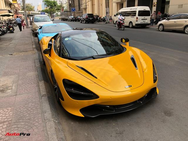 Vừa thông quan, McLaren 720S mui trần hàng hiếm bất ngờ xuất hiện trên phố Sài Gòn - Ảnh 2.