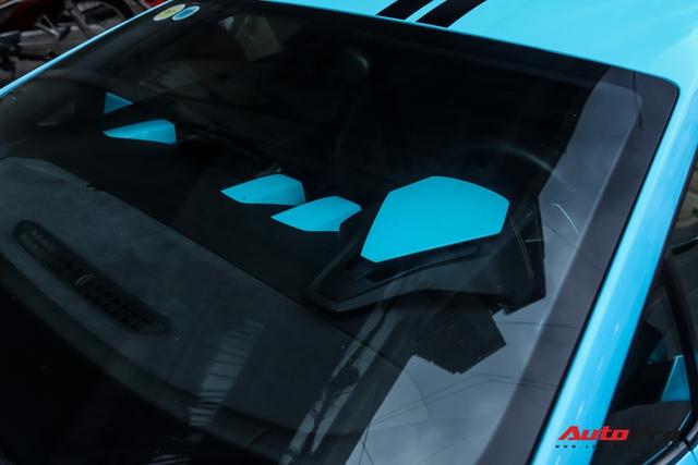 Lamborghini Huracan độ hàng độc tại Sài Gòn được ví màu như khẩu trang, nội thất lộ những chi tiết gây chú ý hơn - Ảnh 8.
