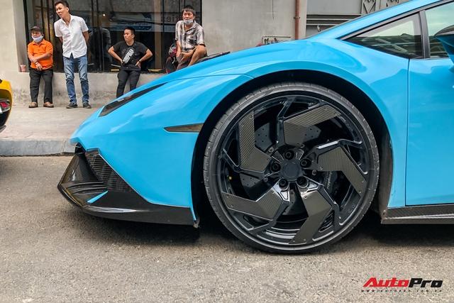 Lamborghini Huracan độ hàng độc tại Sài Gòn được ví màu như khẩu trang, nội thất lộ những chi tiết gây chú ý hơn - Ảnh 7.