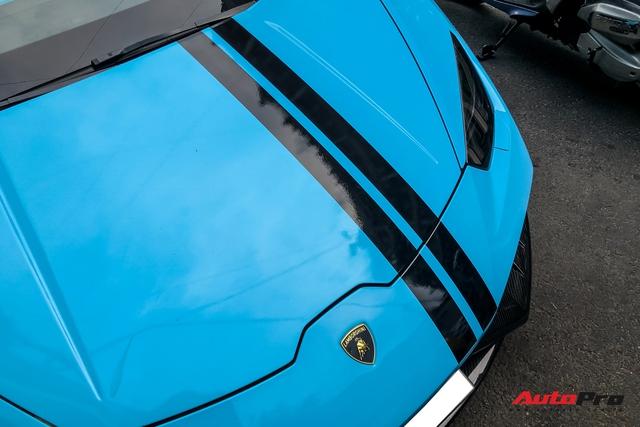 Lamborghini Huracan độ hàng độc tại Sài Gòn được ví màu như khẩu trang, nội thất lộ những chi tiết gây chú ý hơn - Ảnh 6.