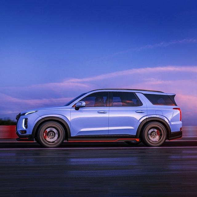 Hyundai Palisade hiệu suất cao đấu Ford Explorer ST: Đẹp mê hồn - Ảnh 1.