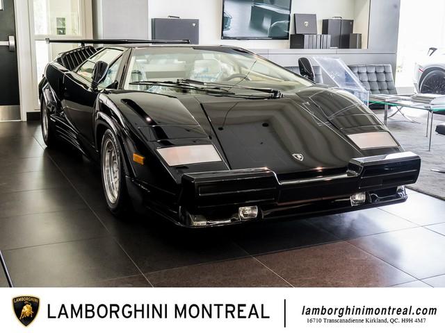 Siêu xe Lamborghini Countach phiên bản đặc biệt 'mới 99%' bất ngờ được rao bán