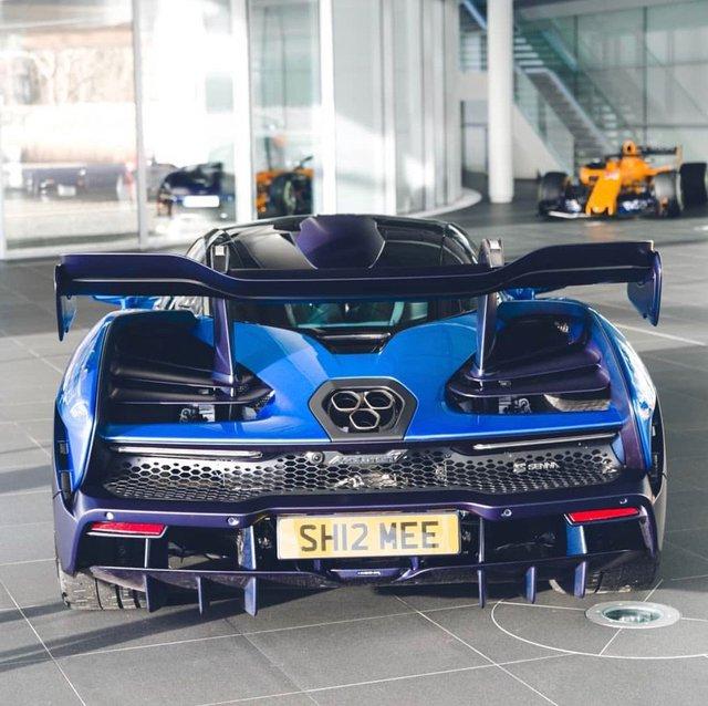 Chi tiết lạ trên siêu xe McLaren Senna của đại gia Hoàng Kim Khánh khiến nhiều người khó hiểu - Ảnh 2.
