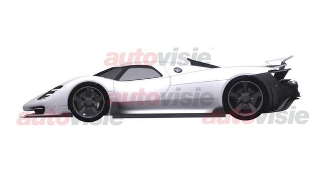 Cú lừa hậu duệ của huyền thoại Porsche 918 Spyder - Ảnh 3.