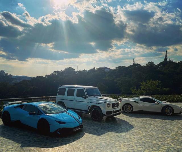 Ferrari 488 Spider độ Novitec bất ngờ xuất hiện tại Đà Lạt, hội ngộ cùng dàn xe tiền tỷ của giới nhà giàu Sài Gòn - Ảnh 5.
