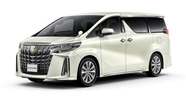 Chuyên cơ mặt đất Toyota Alphard có thêm bản Type Gold cho đại gia - Ảnh 1.