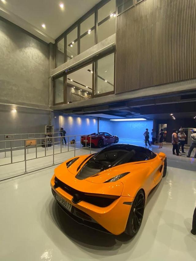 Lộ diện garage mới của Cường Đô-la: Không khác gì showroom siêu xe sang chảnh - Ảnh 4.