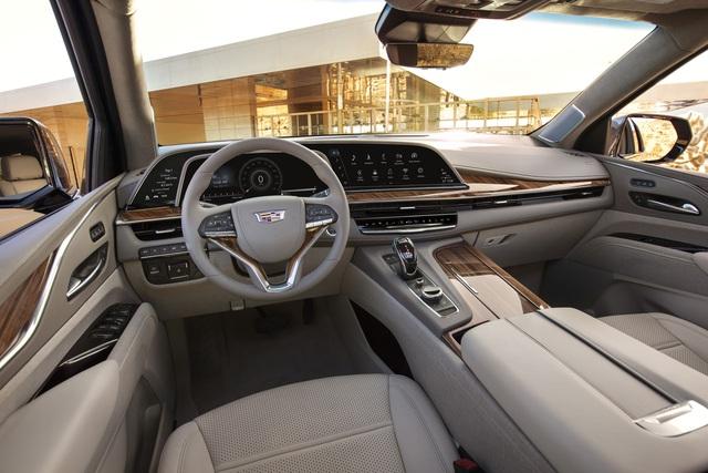 Cadillac Escalade đời mới chính thức có phiên bản kéo dài, thêm vài sự thay đổi so với bản gốc - Ảnh 3.