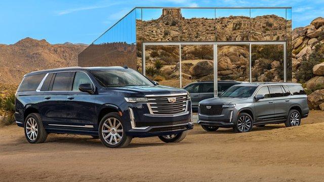 Cadillac Escalade đời mới chính thức có phiên bản kéo dài, thêm vài sự thay đổi so với bản gốc - Ảnh 1.