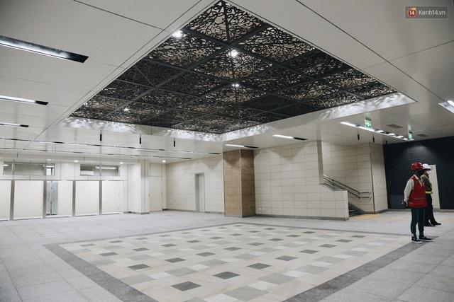 """Ga ngầm Metro đầu tiên được hoàn thành ở Sài Gòn: Ngỡ như """"thiên đường"""" dưới lòng đất, thiết kế theo kiến trúc của Nhà hát Thành phố - Ảnh 12."""