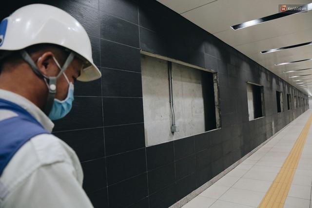 """Ga ngầm Metro đầu tiên được hoàn thành ở Sài Gòn: Ngỡ như """"thiên đường"""" dưới lòng đất, thiết kế theo kiến trúc của Nhà hát Thành phố - Ảnh 10."""