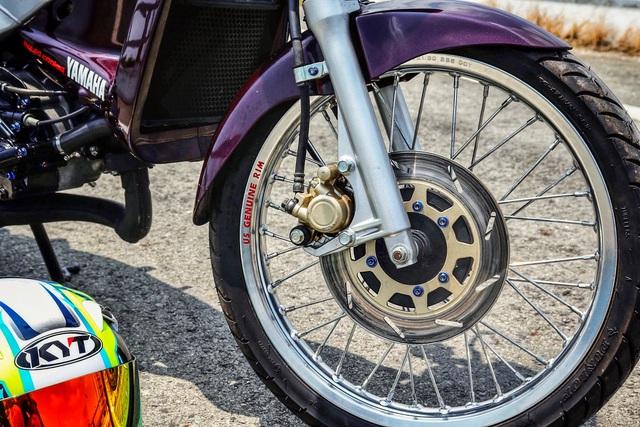 Xe 2 thì Yamaha ZR120 hàng hiếm tại Việt Nam - Huyền thoại một thời có giá bán 150 triệu đồng - Ảnh 7.