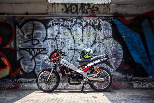 Xe 2 thì Yamaha ZR120 hàng hiếm tại Việt Nam - Huyền thoại một thời có giá bán 150 triệu đồng - Ảnh 8.