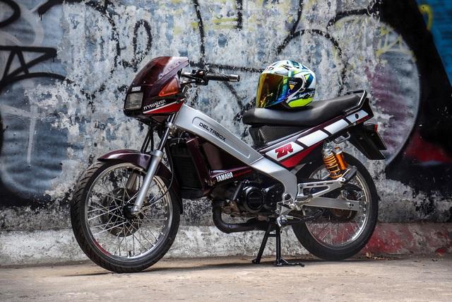 Xe 2 thì Yamaha ZR120 hàng hiếm tại Việt Nam - Huyền thoại một thời có giá bán 150 triệu đồng - Ảnh 1.