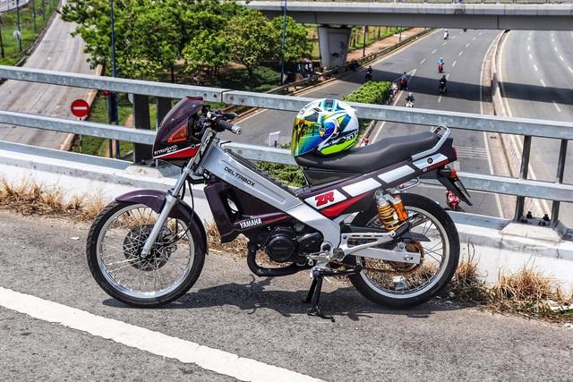 Xe 2 thì Yamaha ZR120 hàng hiếm tại Việt Nam - Huyền thoại một thời có giá bán 150 triệu đồng - Ảnh 3.