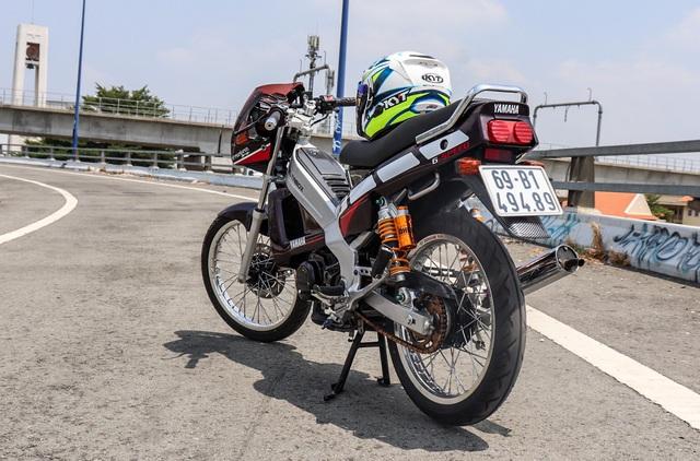 Xe 2 thì Yamaha ZR120 hàng hiếm tại Việt Nam - Huyền thoại một thời có giá bán 150 triệu đồng - Ảnh 4.