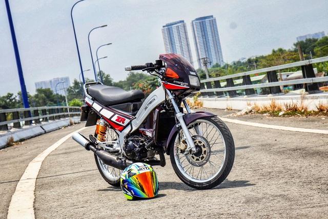 Xe 2 thì Yamaha ZR120 hàng hiếm tại Việt Nam - Huyền thoại một thời có giá bán 150 triệu đồng - Ảnh 2.