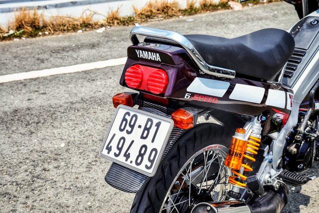 Xe 2 thì Yamaha ZR120 hàng hiếm tại Việt Nam - Huyền thoại một thời có giá bán 150 triệu đồng - Ảnh 9.